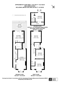Large floorplan for Osborne Road, Willesden Green, NW2