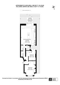Large floorplan for Melrose Avenue, Willesden Green, NW2