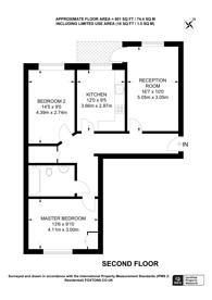 Large floorplan for Candle Grove, Nunhead, SE15
