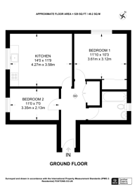 Large floorplan for Gratton Terrace, Cricklewood, NW2