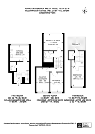 Large floorplan for Garnies Close, Peckham, SE15