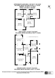 Large floorplan for Hamilton Ave, Pyrford, GU22, Pyrford, GU22
