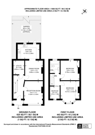 Large floorplan for Kingswood Avenue, Croydon, CR7