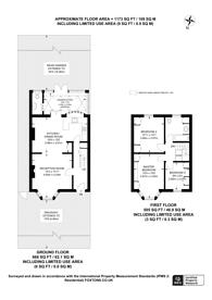 Large floorplan for Hazelbank Road, Catford, SE6