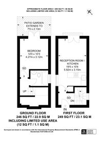 Large floorplan for Lee High Road, Lee, SE12