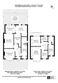Large floorplan for Lyndhurst Avenue, Surbiton, KT5