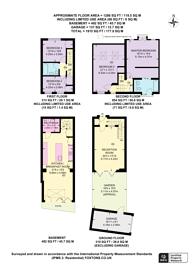 Large floorplan for Boyne Mews, Holland Park, W11