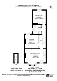 Large floorplan for Heathwood Gardens, Charlton, SE7