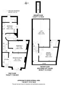 Large floorplan for St Elmo Road, Shepherd's Bush, W12