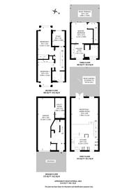 Large floorplan for Chiswick Quay, Grove Park, W4