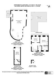 Large floorplan for Bermondsey Street, London Bridge, SE1