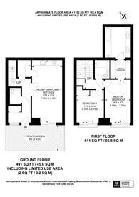 Large floorplan for Riverlight Quay, Nine Elms, SW11