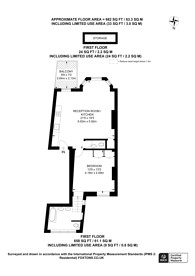 Large floorplan for Colville Terrace, Notting Hill, W11