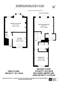 Large floorplan for Broxash Road, Between the Commons, SW11