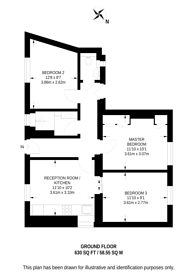 Large floorplan for Luke Street, Shoreditch, EC2A