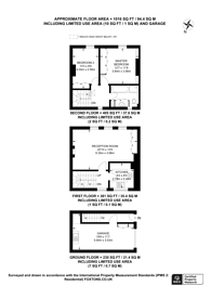 Large floorplan for Brunswick Mews, Portman Estate, W1H
