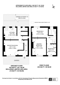 Large floorplan for Cloister Road, Child's Hill, NW2