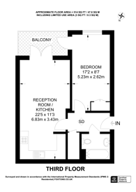 Large floorplan for West Street, Sutton, SM1