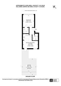 Large floorplan for Warwick Road, Kensington, W14