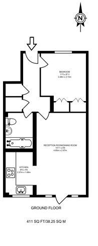 Large floorplan for Blenheim Road, West Harrow, HA2