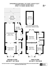 Large floorplan for Audrey Gardens, North Wembley, HA0