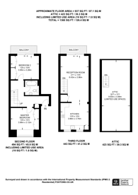 Large floorplan for Whistlers Avenue, Battersea, SW11