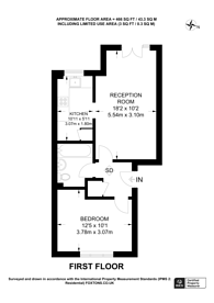 Large floorplan for Glaisher Street, Greenwich, SE8