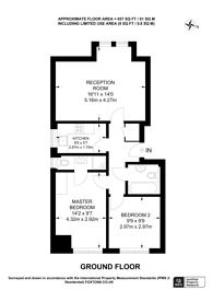 Large floorplan for Byron Road, Harrow, HA3