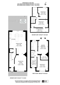 Large floorplan for Dingwall Gardens, Temple Fortune, NW11