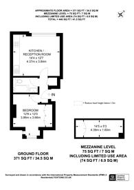 Large floorplan for Marylands Road, Maida Hill, W9