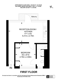 Large floorplan for Fulham, Fulham, SW6