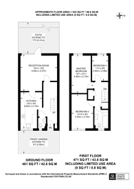 Large floorplan for Acacia Road, Leytonstone, E11