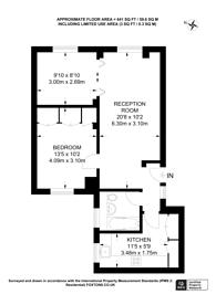 Large floorplan for Wimpole Street, Marylebone, W1G