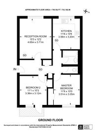Large floorplan for Radcliffe Road, East Croydon, CR0