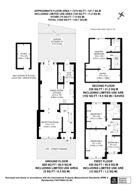 Large floorplan for London Road, Isleworth, TW7
