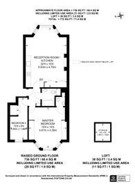 Large floorplan for Cambridge Park, Twickenham, TW1