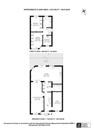 Large floorplan for Mulberry Close, Chingford, E4
