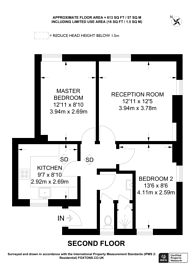 Large floorplan for Hazellville Road, Archway, N19