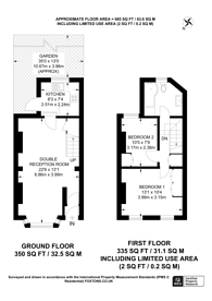 Large floorplan for Pemdevon Road, Croydon, CR0