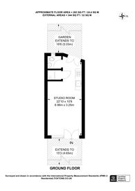 Large floorplan for Bodney Road, Hackney Downs, E8