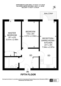 Large floorplan for Durnsford Road, Wimbledon Park, SW19