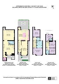 Large floorplan for Chipstead Street, Peterborough Estate, SW6