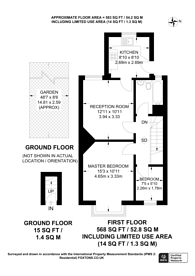 Large floorplan for Ridsdale Road, Anerley, SE20
