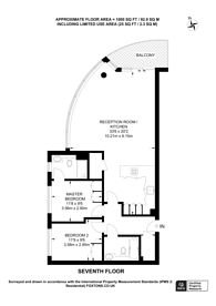 Large floorplan for Townmead Road, Imperial Wharf, SW6
