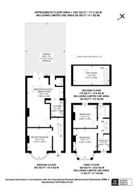 Large floorplan for Northolt Road, Harrow, HA2
