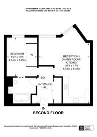 Large floorplan for Upper Street, Angel, N1