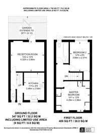 Large floorplan for Belton Way, Tower Hamlets, E3