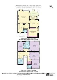 Large floorplan for Upper Belgrave Street, Belgravia, SW1X