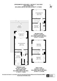 Large floorplan for Buckstone Close, Honor Oak Park, SE23