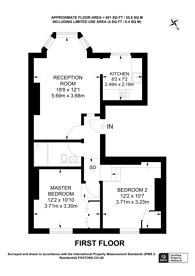 Large floorplan for Claremont Road, Cricklewood, NW2